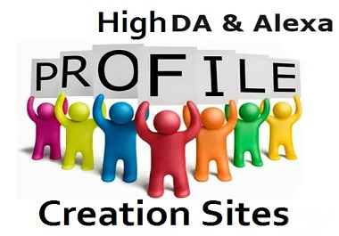 I will create 100 social profile creation high DA PA site