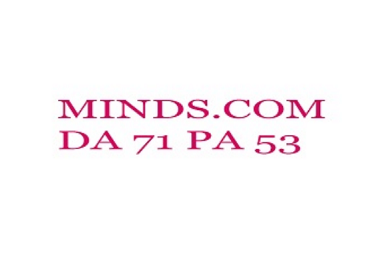 I will write & publish guest post on minds. com