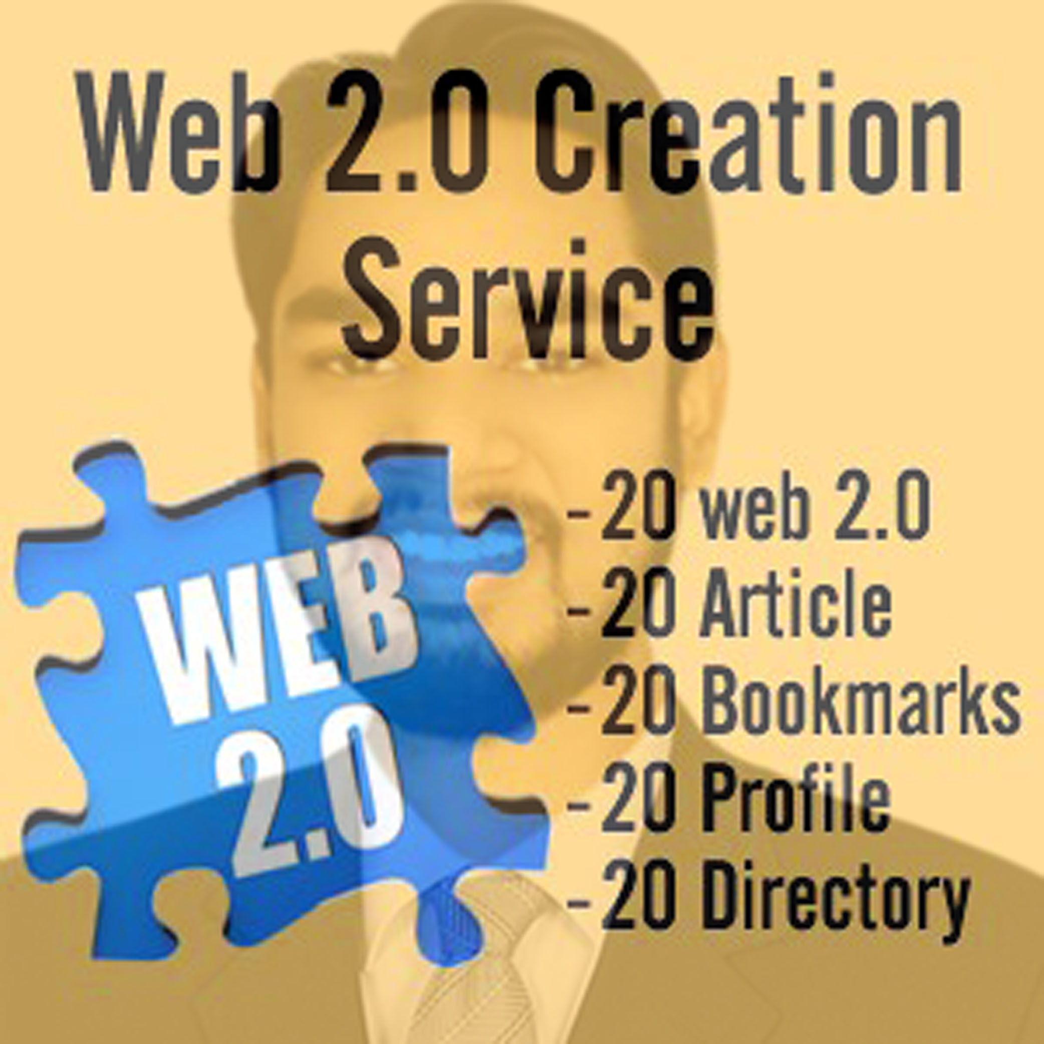 I will do Web 2.0 Link building for your website with high DA page
