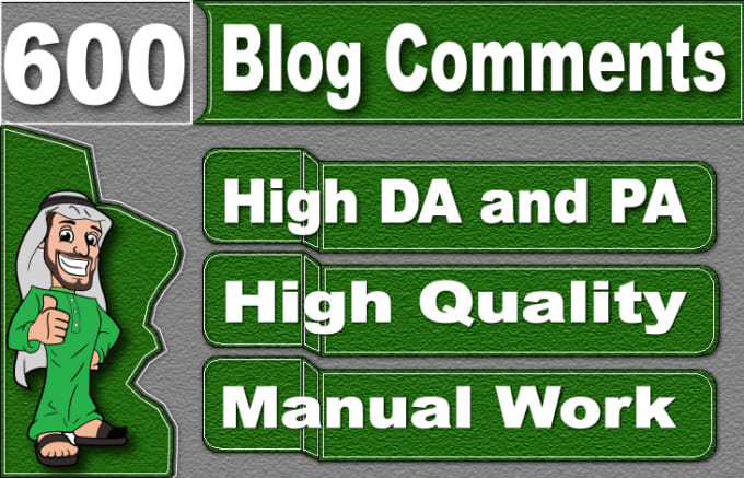 I will submit 600 high quality seo dofollow blog comment backlinks