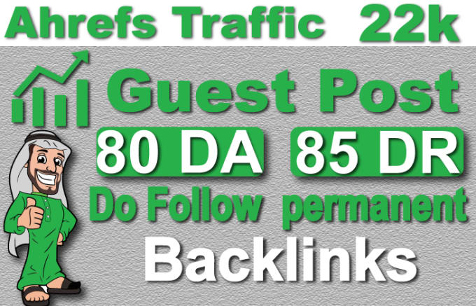 I will create seo1 Guest Post with 2 Backlinks and dofollow backlinks with high da