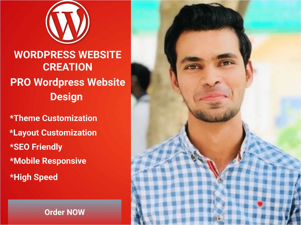 I will create or design Wordpress website for you