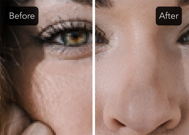 Convert Low Resolution Images into High Resolution
