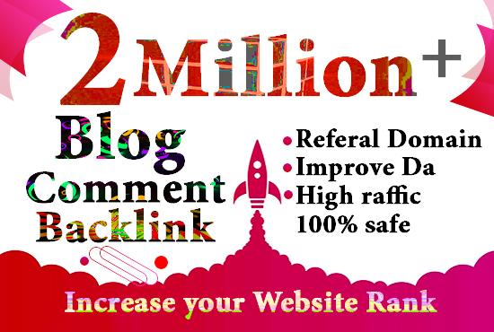 Get 2 milion gsa backlink for faster link juice and safe google index