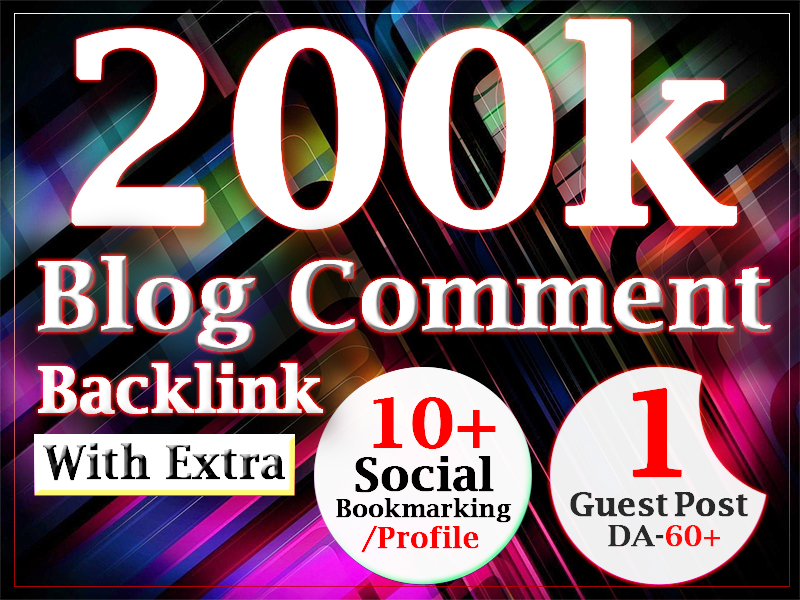 200000 blog comment gsa ser dofollow backlink for ranking