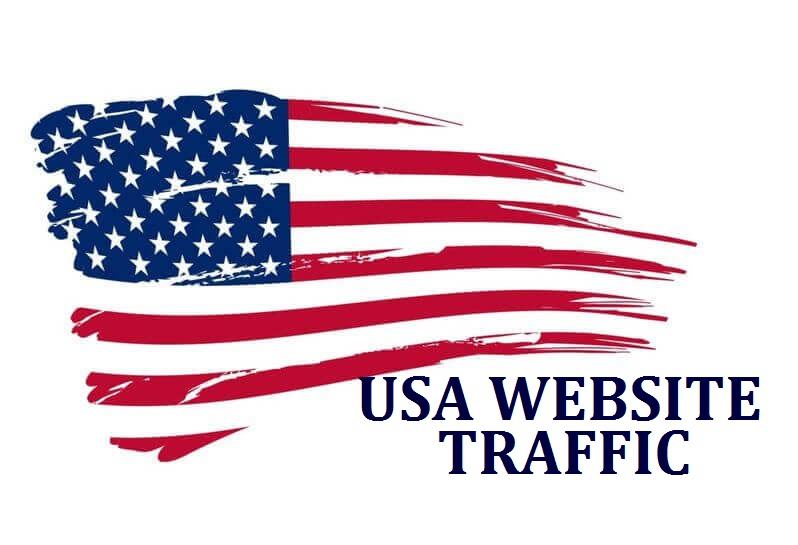 I will send keyword target usa website traffic with low bounce rate