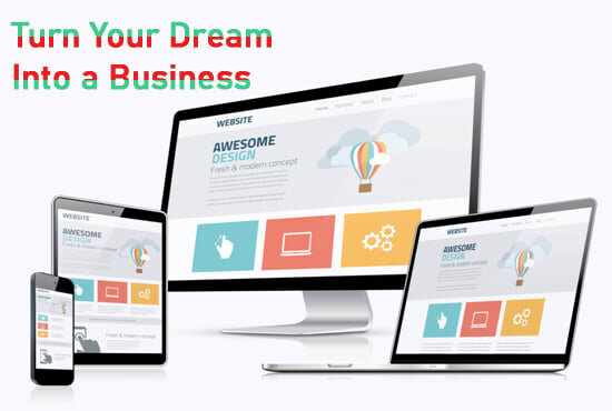 I will build a professional website for your business in wordpress