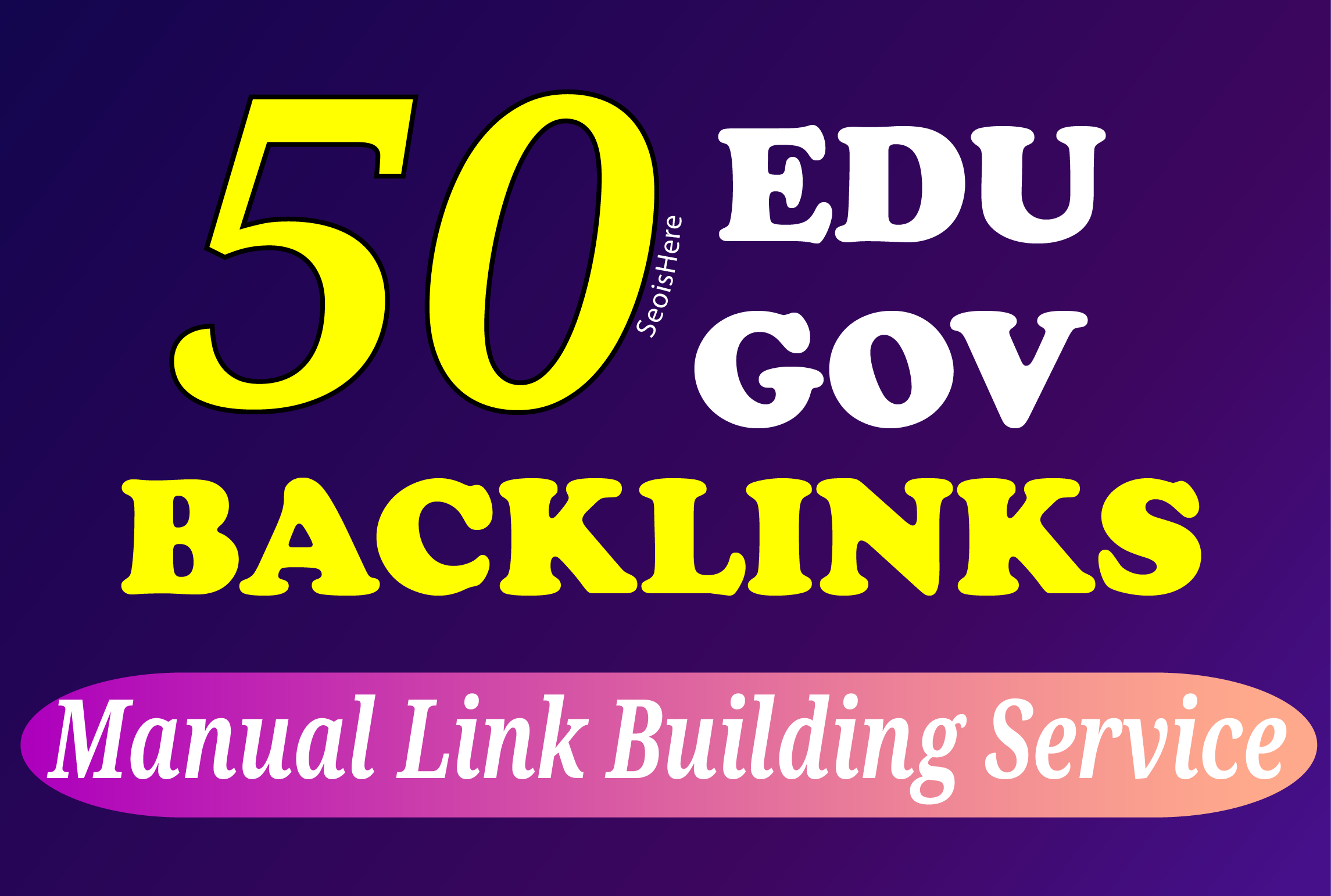 I will manually build 30 pr9 and 20 Edu/Gov backlinks white hat SEO link building