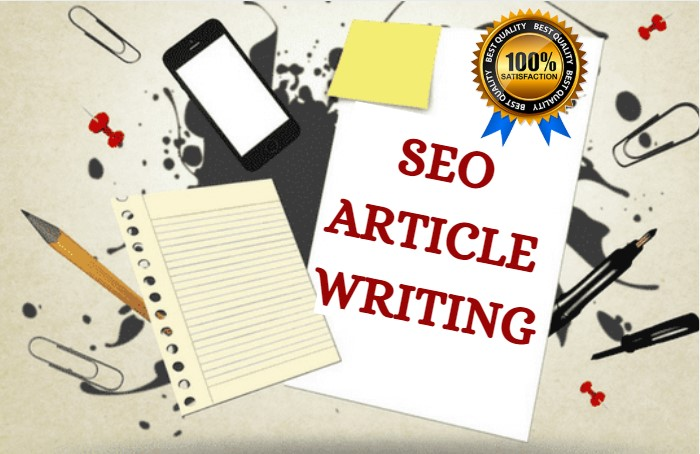 SEO Friendly Article Writing - 1500 Words within 48 hours