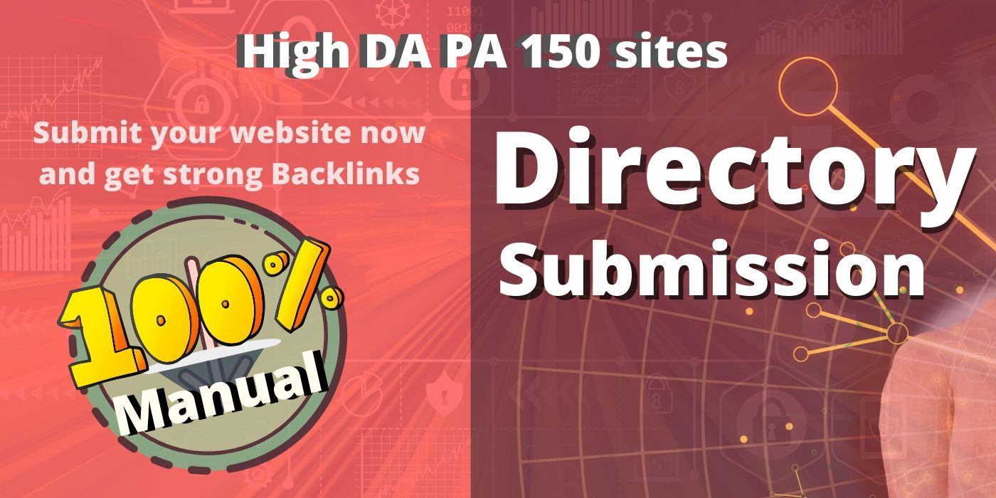 Do Manually 150 high quality Directory Submission Backlinks