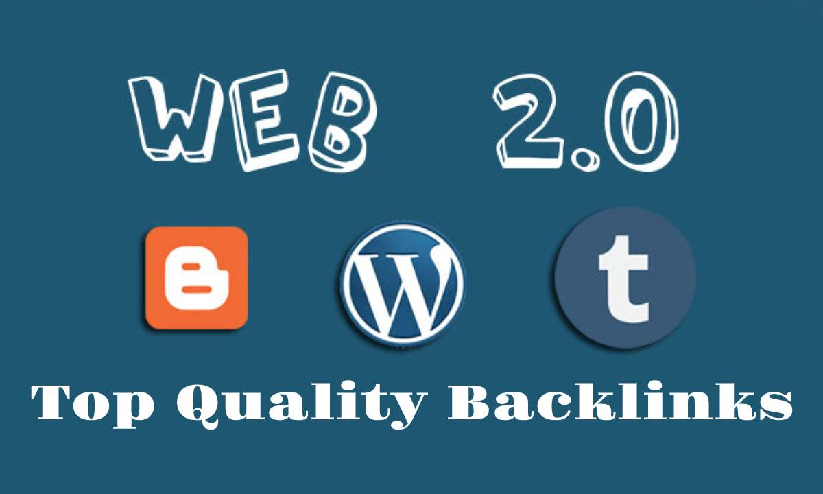 30 Top Quality web 2.0 backlinks to rank your website