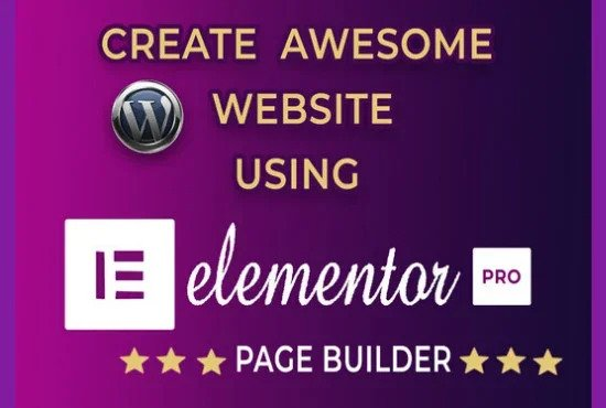 I will create a responsive wordpress website design responsive wordpress website with elementor pro