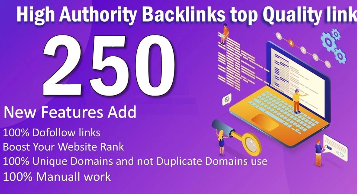 I will create 250 unique domain blog comments with high da pa