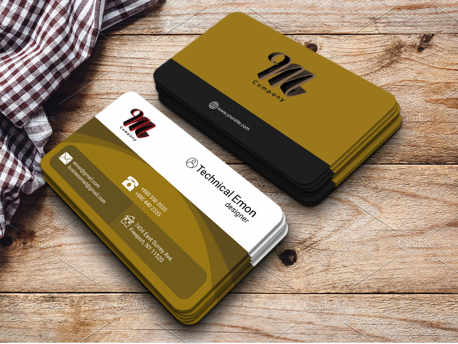 I will design business card, design amazing business card,  for you