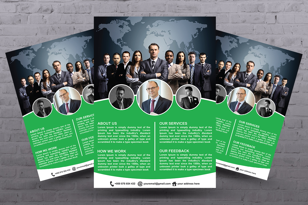 I will design business flyer, Business flyer