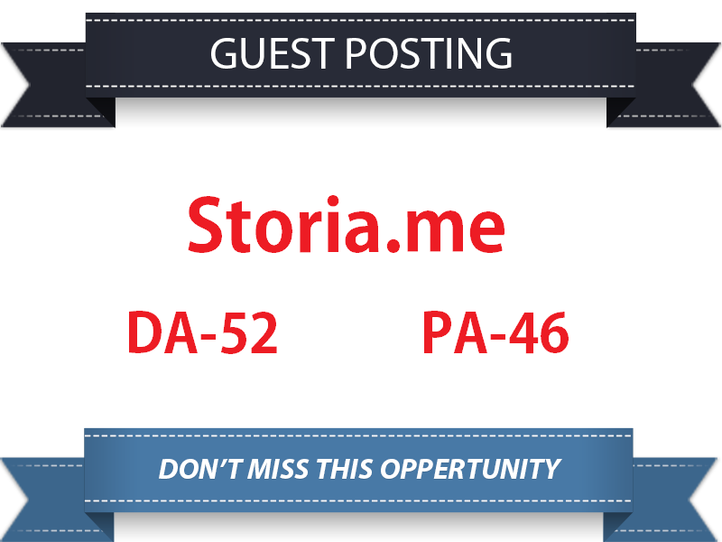 Write & publish a guest p0st on Storia.me Do-follow Backlink