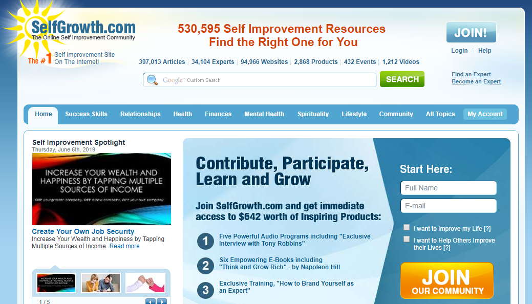 Write And Publish Guest post on selfgrowth. com and Talkmarkets. com