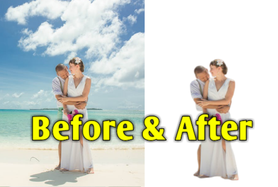 Photo Background Removing Service Within 1 hour