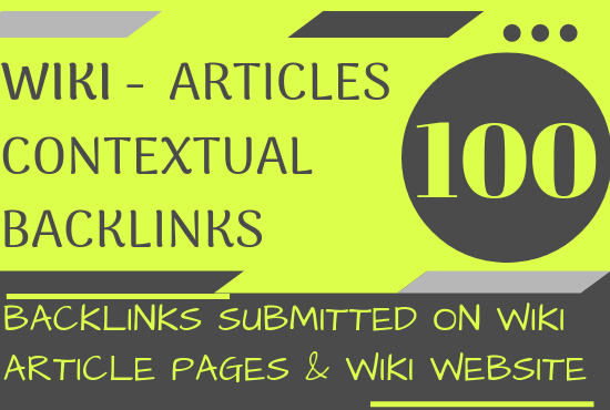I will Boost Site Alexa Rank with 100+ Wiki Articles Contextual Backlinks