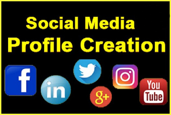 I will setup 60 social profiles or profile creations high DA, PA backlinks.