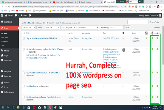 I will provide wordpress onpage SEO services perfectly