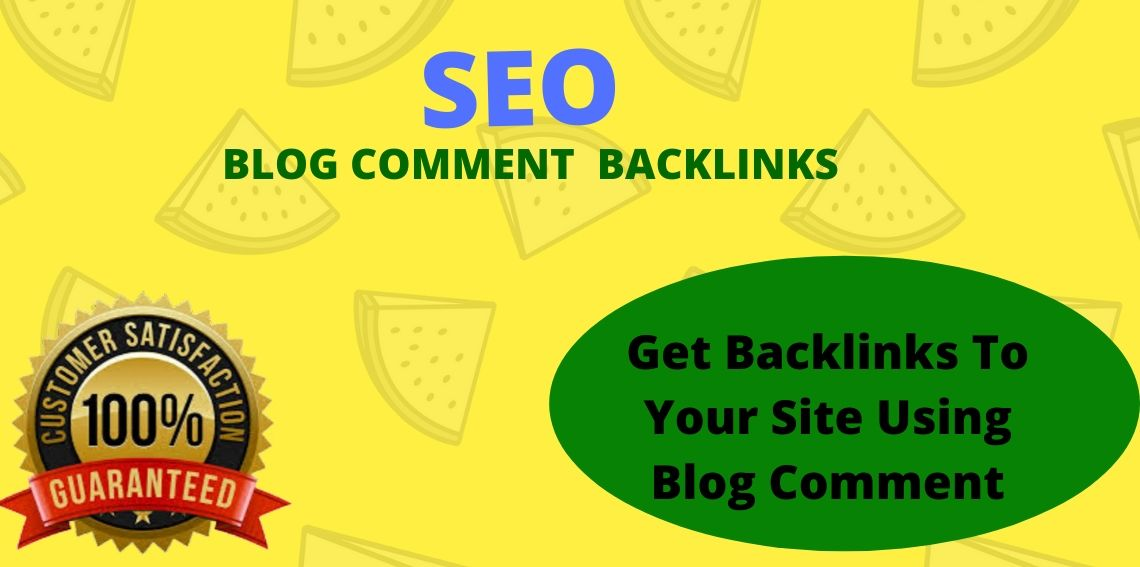 I Will Make High Quality Backlinks Using Blog Comments