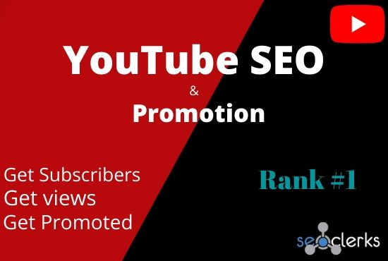 I will do youtube SEO for Promotion