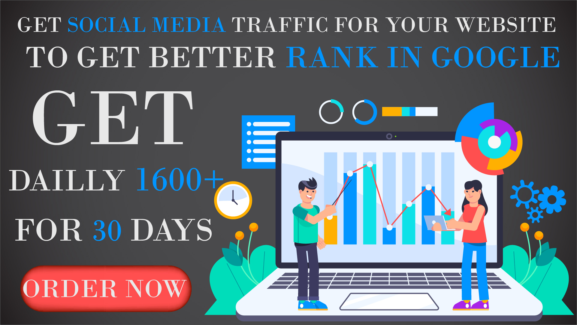 Top Rankings In Google Get Organic And Social Media Traffic For Your Website