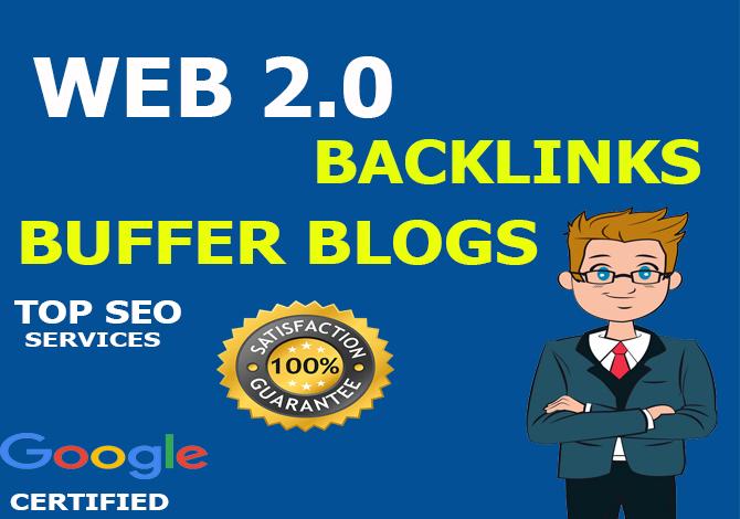 Manually create 15 buffer blog dofollow profile backlink