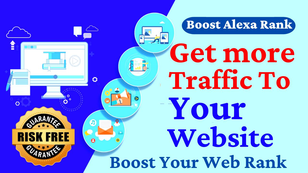 Real Human Visitors, Website Traffic for 30 Days with Search Keyword Digital Marketing