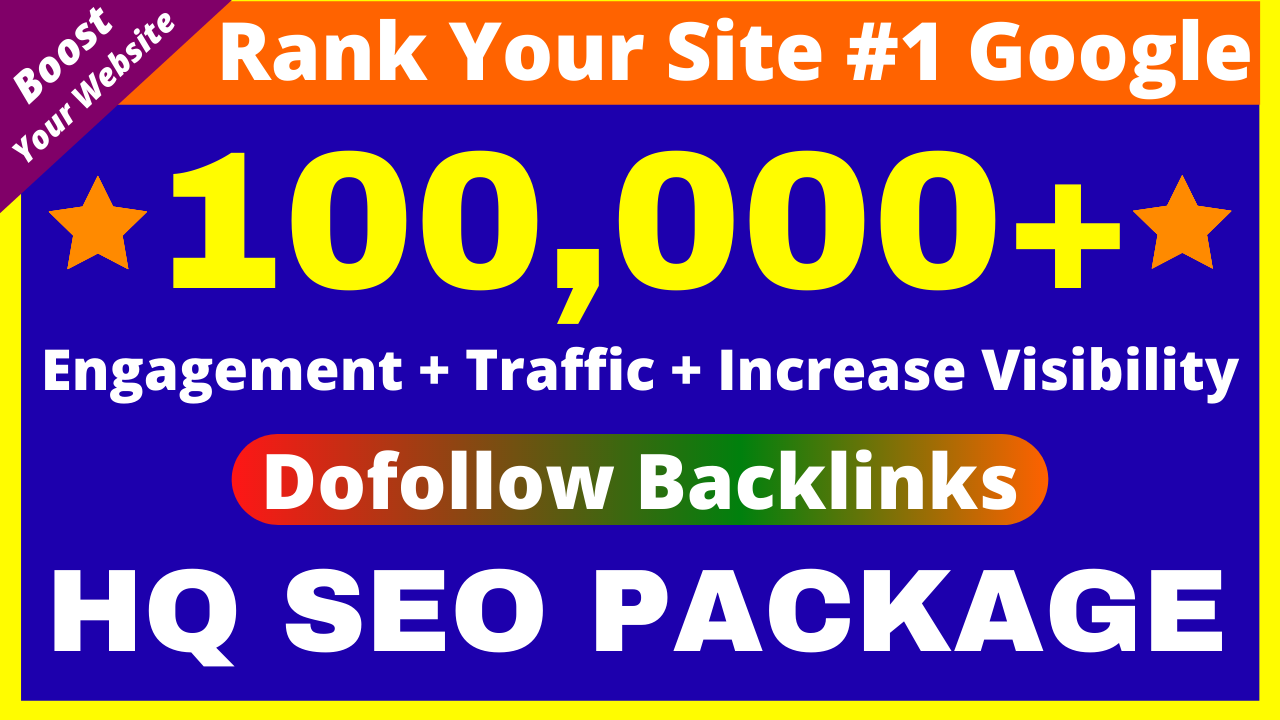 1 Million+ Dofollow Backlinks Guaranteed Google 1st Page Ranking Profile Web2 Edu Guest Post Etc