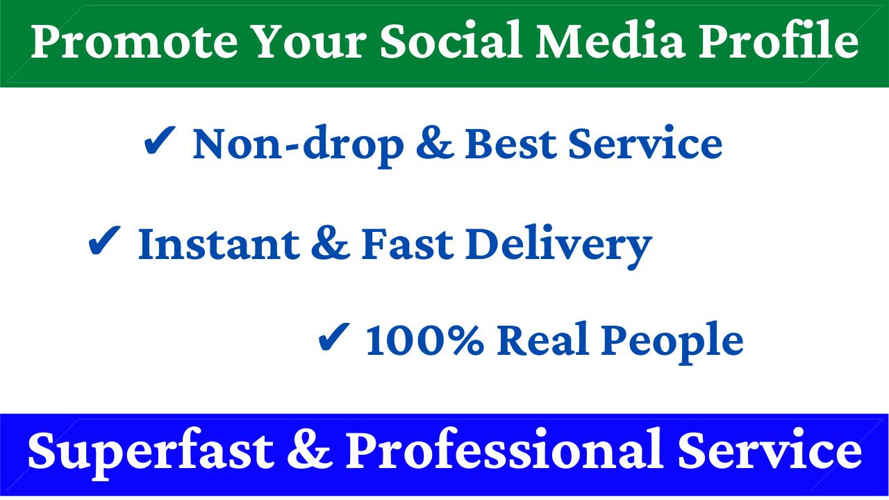 Promote Your Social Media Profile & Website Promotion