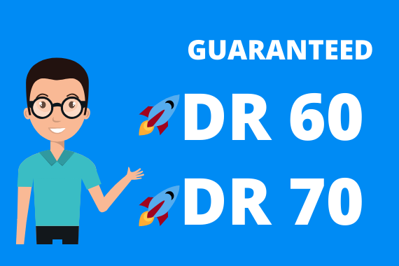 I will increase ahrefs domain rating from 0 to DR 30+ guaranteed