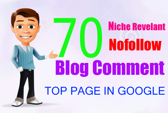I Will Provide a 70 Relevant Niche Blog Comment