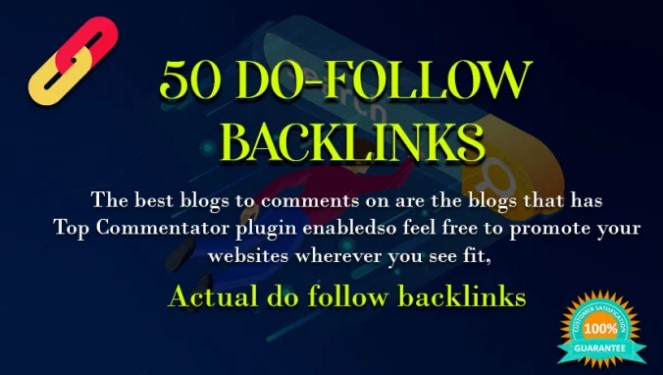 I will build 50 permanent dofollow SEO backlinks link building service