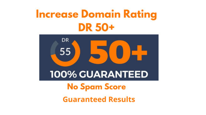 I will increase your website domain rating DR ahrefs 40 plus