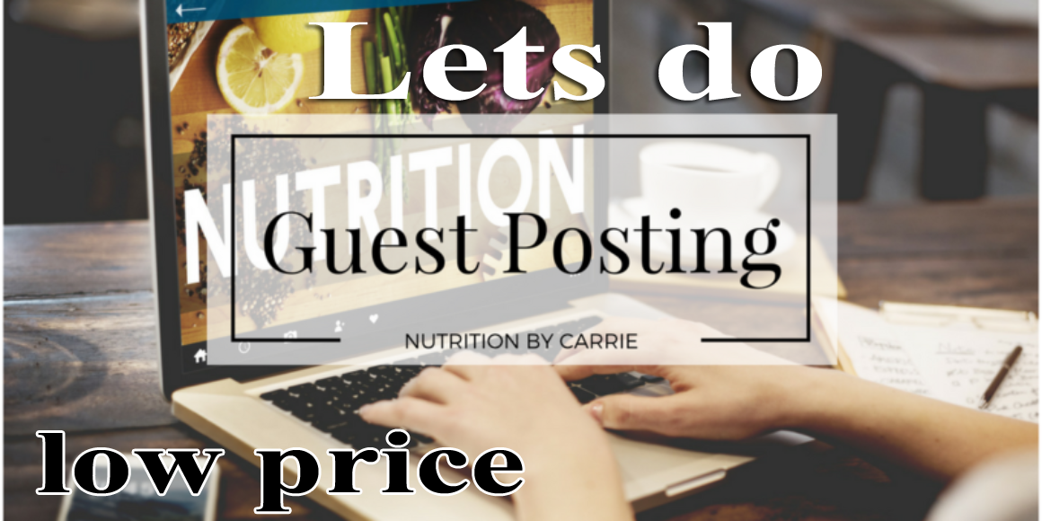 i will do 3 guest post low cost service