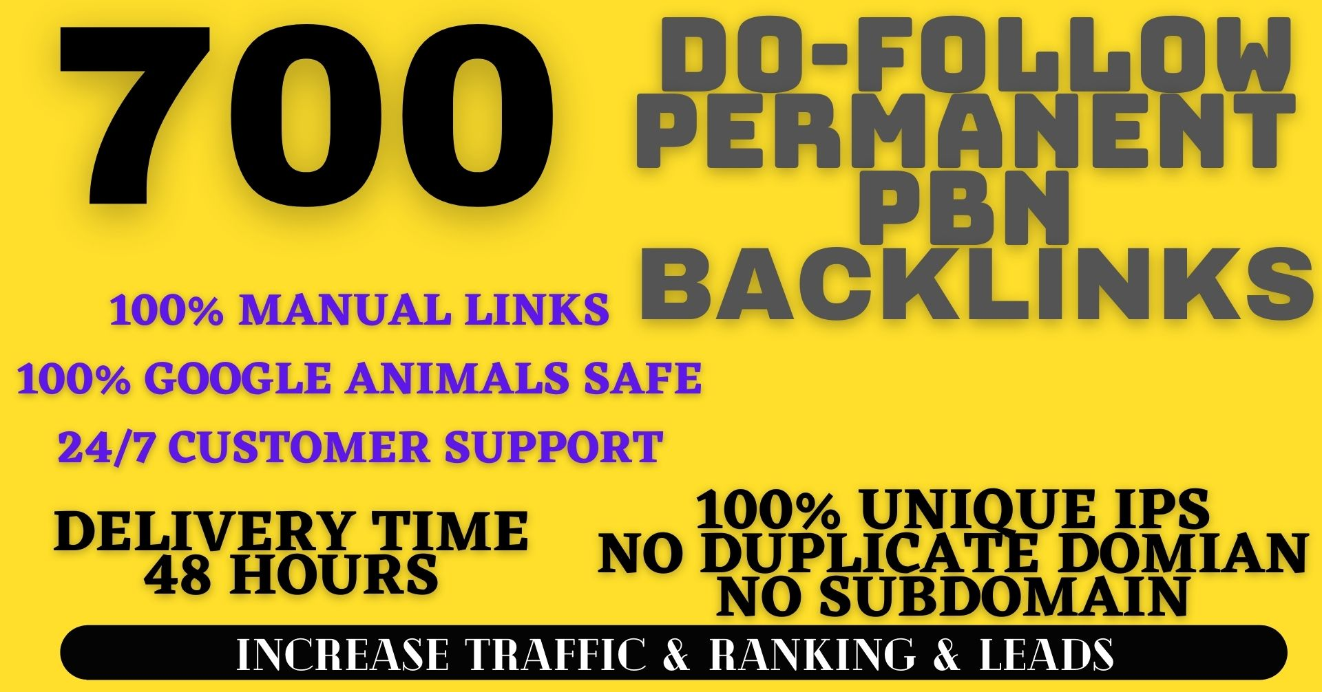 Get Extream 700+ PBN Backlink in your website hompage with HIGH DA/PA/TF/CF with unique website for