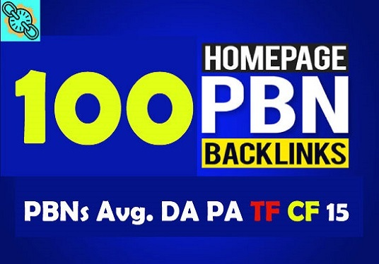Build premium 100+ PBN Backlink homepage web 2.0 with permanent dofollow Trustfollow for 10