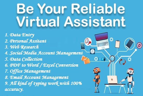 Data Entry & Virtual Assistance
