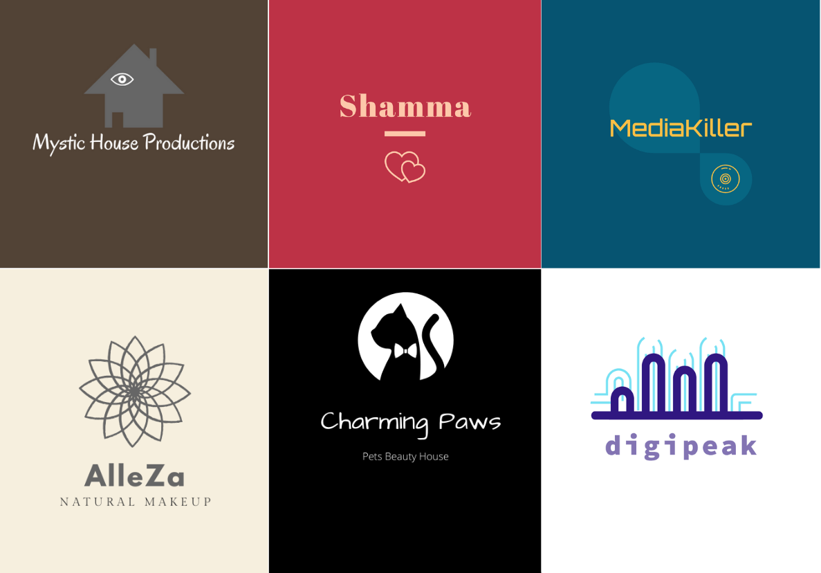 I WILL CREATE MODERN LOGO DESIGN FOR YOUR BUSINESS