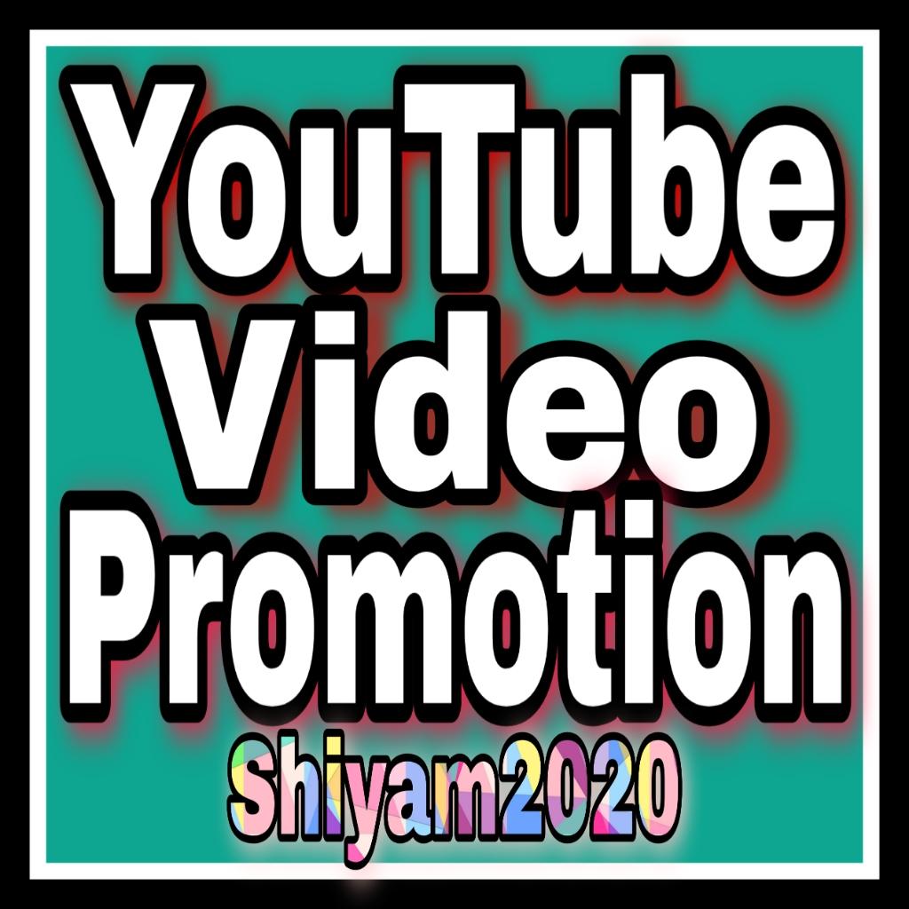 Organic YouTube Video Promotion & Social Media Marketing