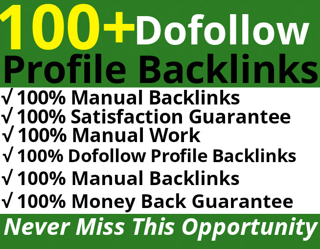 Skyrocket Your Website Rankings with Manual DA-60+ Profile Backlinks