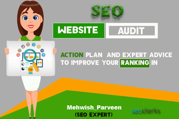 I will create SEO website audit report know all about your site
