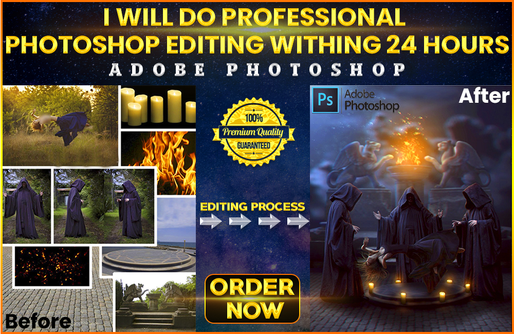 I Will Do Any Photoshop Editing You Need