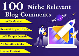 I will create 100 niche relevant blog comments backlinks
