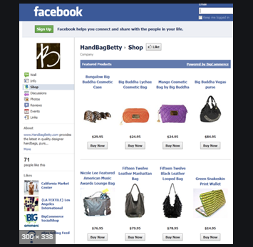 I will setup facebook store or shop and business page
