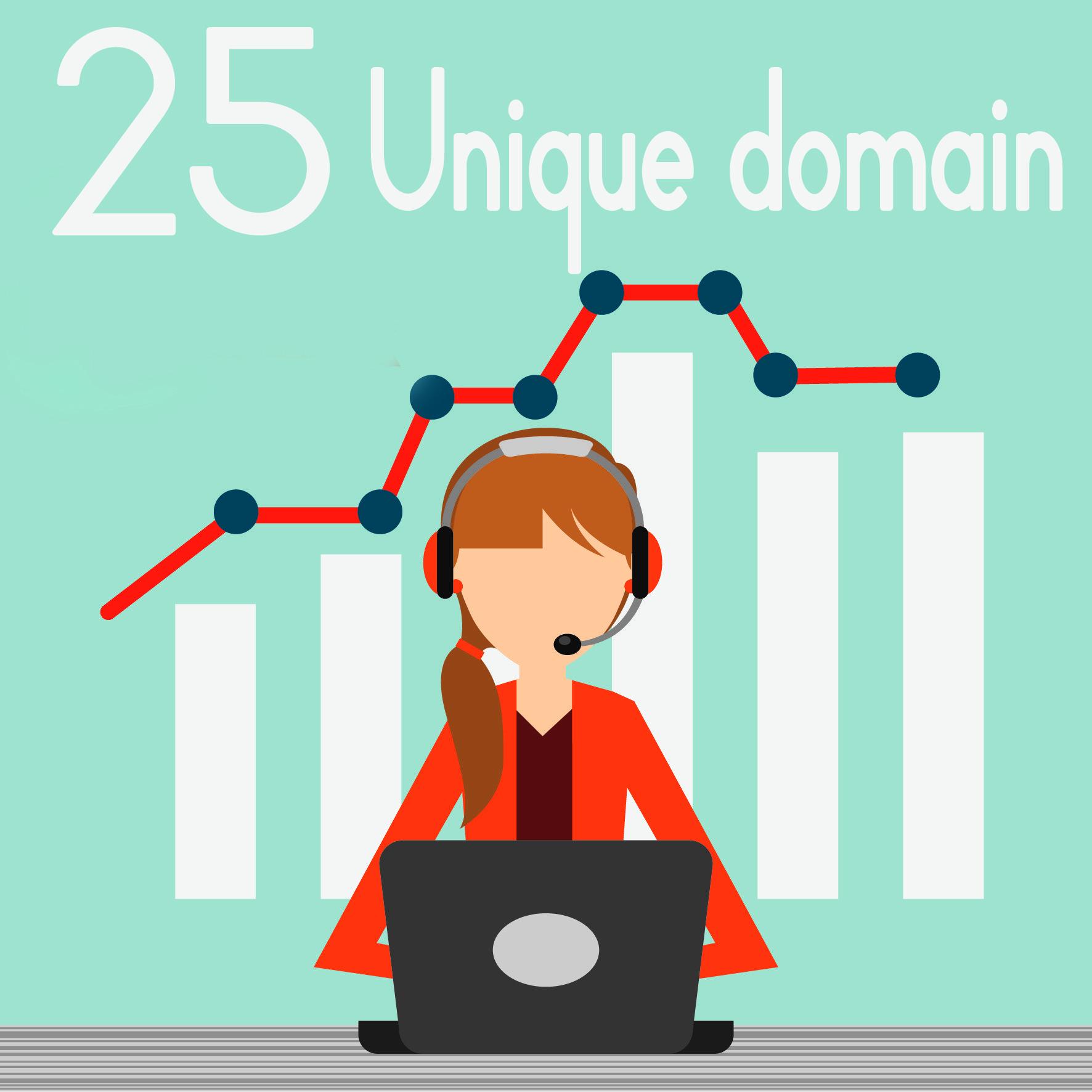 Manual 25 Unique Domain Do-follow Blog Comment backlinks