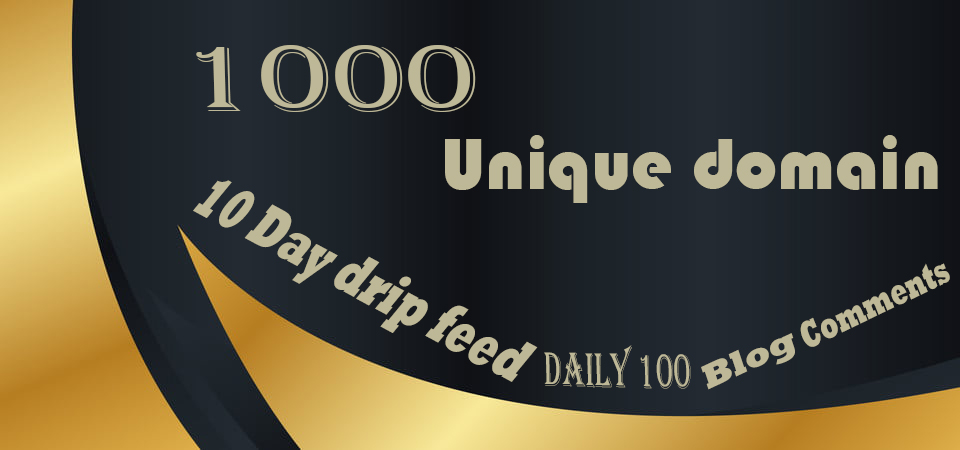 I will skyrocket your website with daily 100 unique domain backlinks 10 days Drip feed