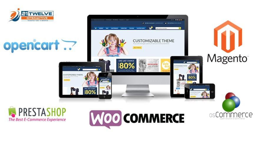 I will design wordpress ecommerce woo commerce website
